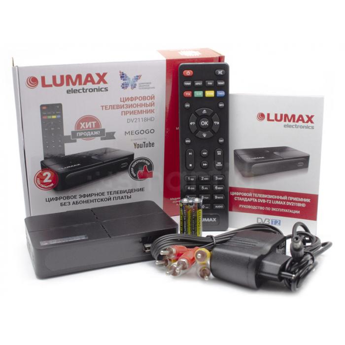 приставка lumax dv2118hd